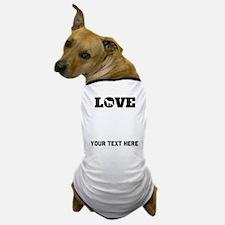 Pit Bull Love (Custom) Dog T-Shirt