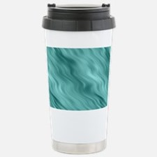 Blue Waves Stainless Steel Travel Mug