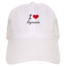 I Love Regression Baseball Baseball Cap