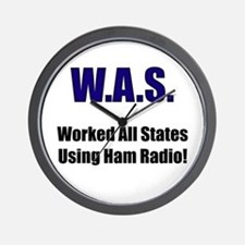 Worked All States Using Ham R Wall Clock