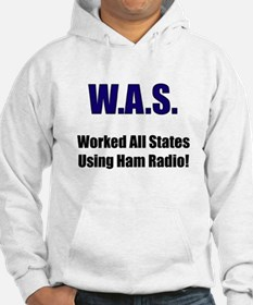 Worked All States Using Ham R Hoodie
