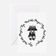 Cool Tap dancing Greeting Card