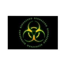 Biohazard Zombie Warning Magnets