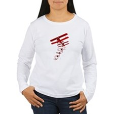 Retro Biplane Long Sleeve T-Shirt