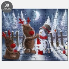 Christmas reindeer Puzzle