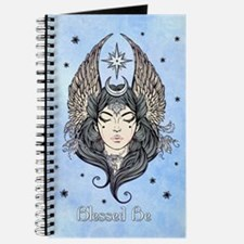 Moon Goddess Blessed Be and Background Journal