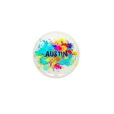 Austin Burst Mini Button