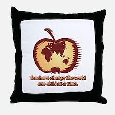 Teachers Changing the World Throw Pillow