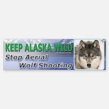 Keep Alaska Wild Bumper Bumper Bumper Sticker