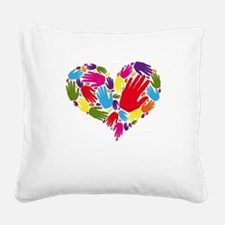 Funny Ucc Square Canvas Pillow