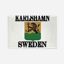 Cute Sweden men Rectangle Magnet