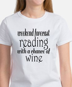 Reading and Wine Women's T-Shirt