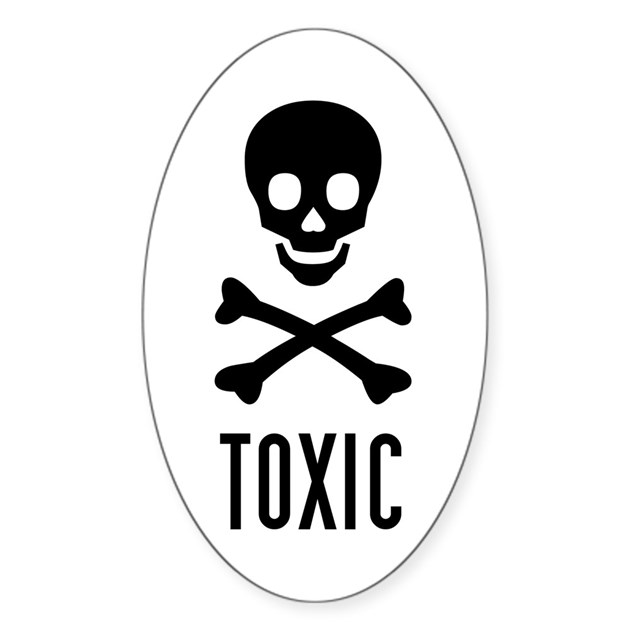 toxic sign and skulls - photo #18