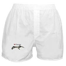 I Love Ospreys Boxer Shorts