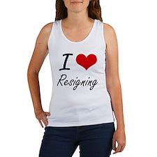 I Love Resigning Tank Top