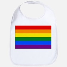 Rainbow Flag Bib