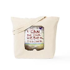 Cute Uzbekistan Tote Bag