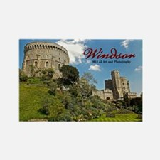 Windsor Castle Rectangle Magnet Magnets