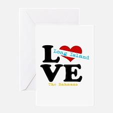 Long Island Love - Bahamas Greeting Cards