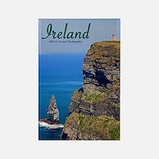 Ireland - Cliffs Of Mohar Rectangle Magnet Magnets