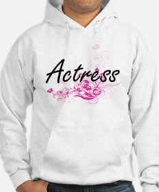 Actress Artistic Job Design with Hoodie