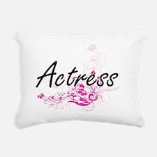 Actress Artistic Job Des Rectangular Canvas Pillow