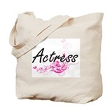 Actress Canvas Totes