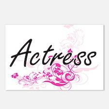 Actress Artistic Job Desi Postcards (Package of 8)