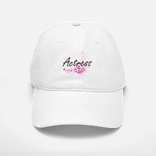 Actress Artistic Job Design with Flowers Baseball Baseball Cap