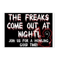 Freaky Party Invite Postcards (Package of 8)