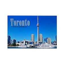 Toronto Skyline Rectangle Magnet Magnets