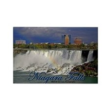 Niagara Falls Rainbow Rectangle Magnet Magnets