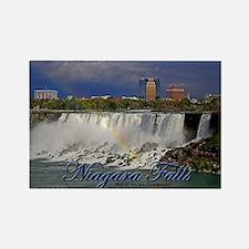 Niagara Falls Rainbow Rectangle Magnet Magnets