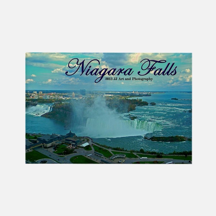 Niagara Falls From Above Rectangle Magnet Magnets