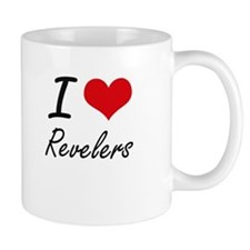 I Love Revelers Mugs