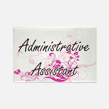 Administrative Assistant Artistic Job Desi Magnets