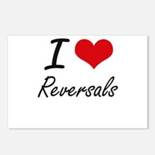 I Love Reversals Postcards (Package of 8)