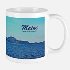 Maine Lighthouse And Mountains Mug Mugs