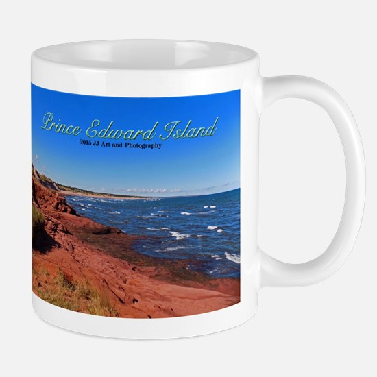 Prince Edward Island Red Sand Beach Mug Mugs