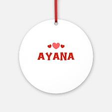 Ayana Ornament (Round)