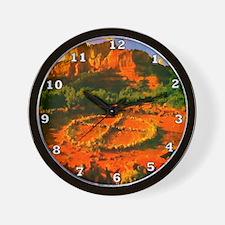 Medicine Wheel Wall Clock