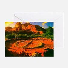 Medicine Wheel Card Greeting Cards