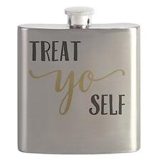 Treat Yo Self Flask