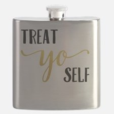 Treat Yo Self Flask