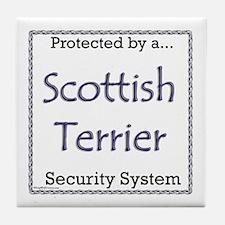 Scotty Security Tile Coaster