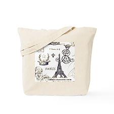 Paris XV Tote Bag