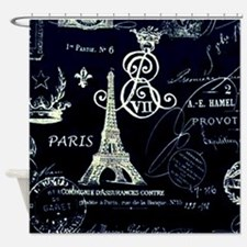 Paris XVIII Shower Curtain