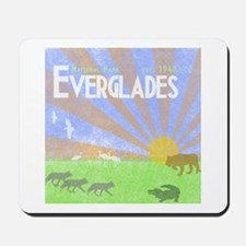 Florida Everglades National Park Vintage Mousepad