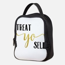 Treat Yo Self Neoprene Lunch Bag