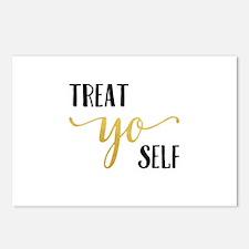 Treat Yo Self Postcards (Package of 8)